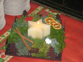 Kerzenständer (rost-braun)