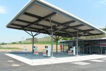 Tankstelle Roll Schliengen - Gesamtansicht